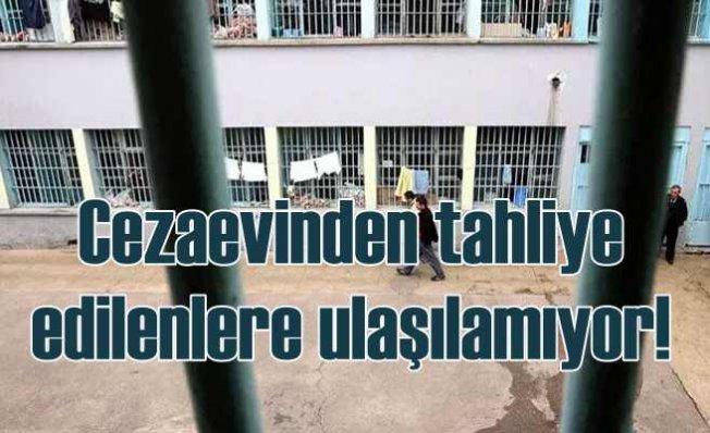 AHEF | Cezaevlerinden tahliye edilenlerle iletişim kurulamıyor