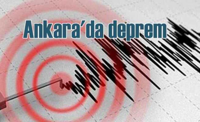 Ankara'da deprem, Ankara Çubuk 3.8 ile sallandı