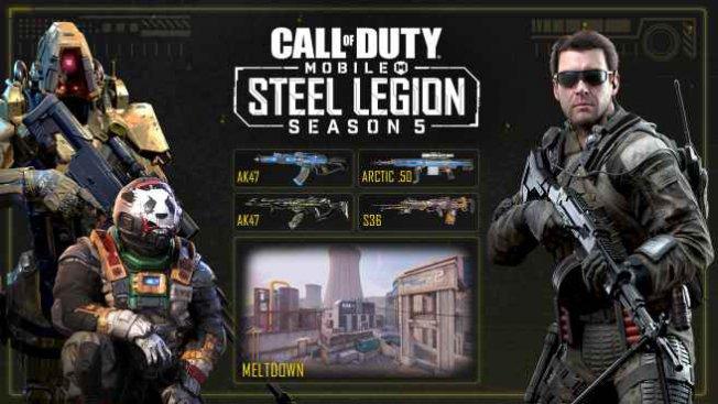 Call of Duty mobilde 5. sezona yeni temalar eklendi