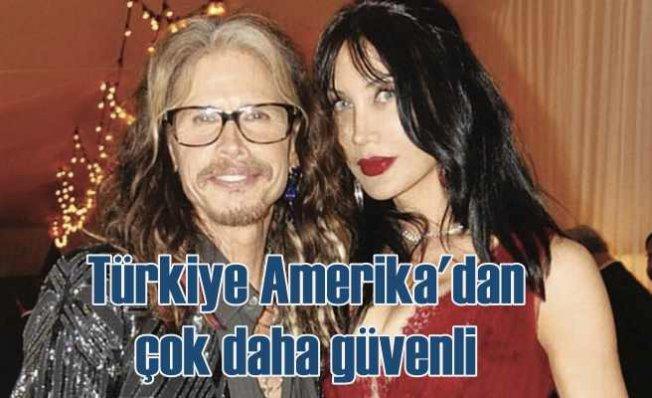Demet Öger | Türkiye Amerika'dan daha güvenli