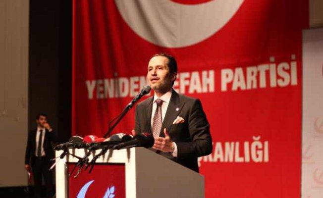 Fatih Erbakan   8 bin aile, 20 bin çocuk adalet bekliyor!