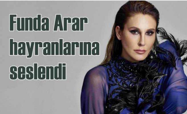 Funda Arar doğum gününde anlamlı kampanya