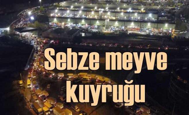 İstanbul'a sebze - meyve yağıyor