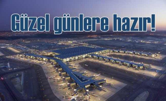İstanbul havalimanı ilk yılını tam kapasite ile tamamladı