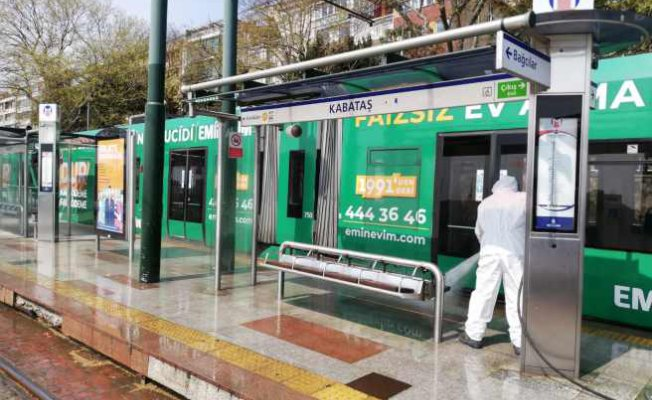 Kabataş - Bağcılar tramvay hattı temizlendi