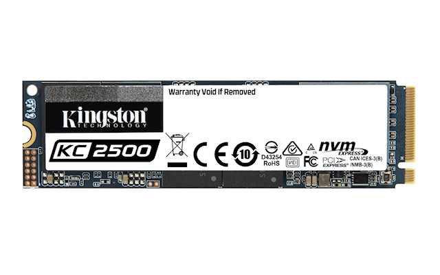 Kingston'dan Yeni Nesil NVMe PCIe SSD: KC2500