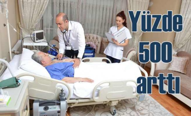 Koronavirüs sağlık taleplerini yüzde 500 artırdırdı
