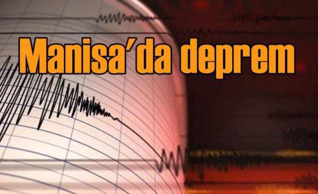 Manisa Kırkağaç'ta deprem 4,3