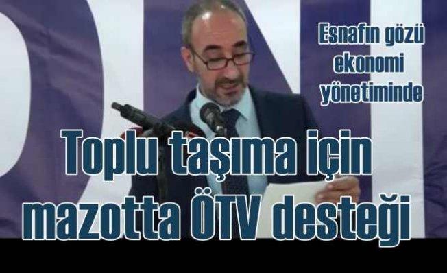 Özel Halk Otobüsü esnafının umudu mazot ÖTV'sinde