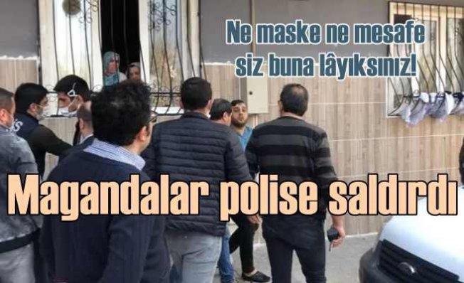 Polise saldıran 5 kişi gözaltında