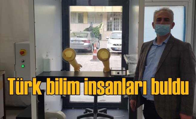 Türk bilim insanları tasarladı   COVID-19 Örnek Alma İstasyonu