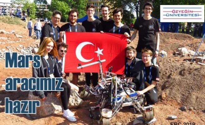 Üniversite öğrencilerinin büyük başarısı   Mars keşif aracı dünya finalinde
