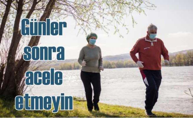 65 yaş ve üstüne sokağa çıkma izni geldi | Yürürken acele etmeyin