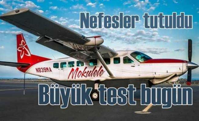 Dünyanın yolcu taşıyan ilk elektrikli uçağı bugün uçuyor