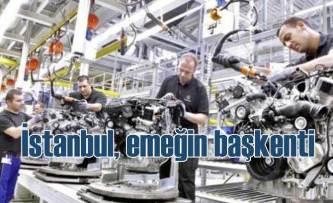 En çok işçi İstanbul'da, çalışanların yüzde 22'si kayıt dışı