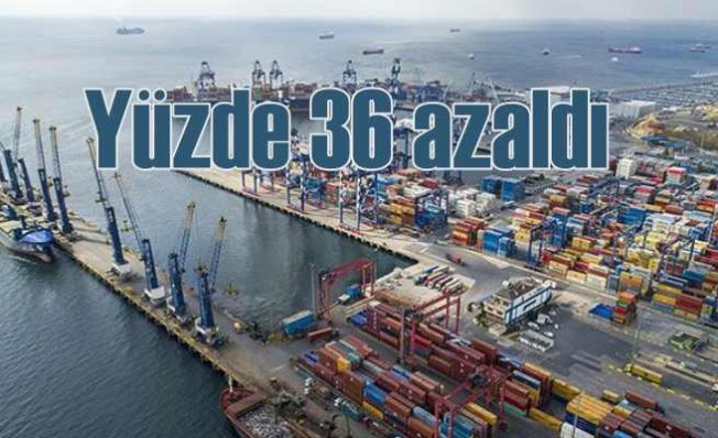 İstanbul'un ihracat rakamları alârm veriyor | Yüzde 36 azaldı