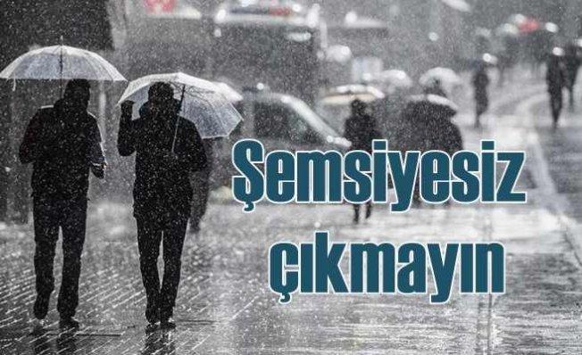 İstanbul yeni haftaya yağmurlu hava ile girecek