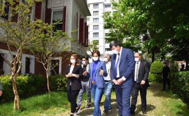Kaftancıoğlu'ndan Kadöküy'ün 'Dayanmışma mutfağı'na ziyaret