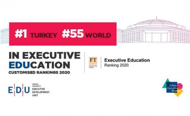 Sabancı Üniversitesi, Türkiye'de 1. dünyada 55. sırada