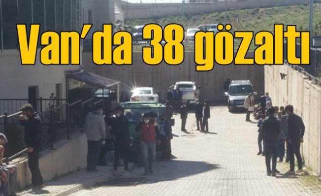 Vefa Grubuna saldırıda sıcak gelişme   38 şüpheli gözaltında