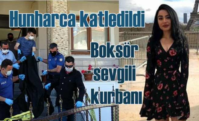 Zeynep Şenpınar cinayeti   Milli boksor sevgilisi hunharca katletti