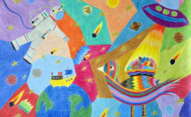 9. Uluslararası Pınar Çocuk Resim Yarışması'na 5.461 minik ressam katıldı