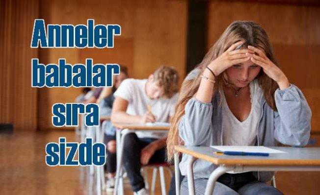 Anne ve babanın sorgulaması çocuklarda sınav kaygısına yol açıyor