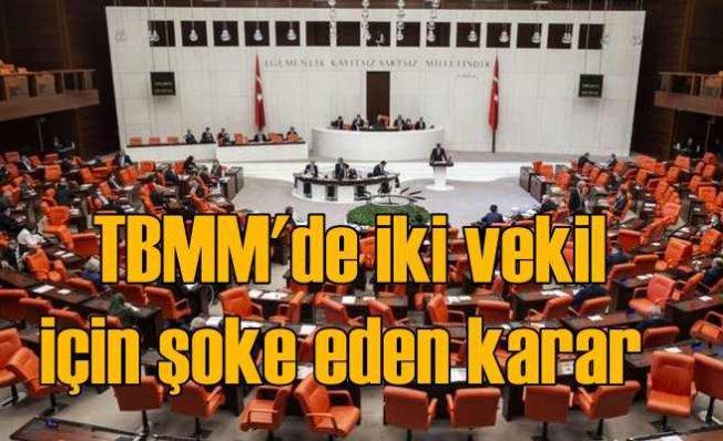 CHP ve HDP'li vekillerin dokunulmazlığı kaldırıldı | TBMM'de gerginlik