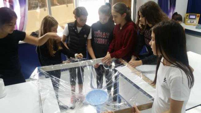 Hisar Okulları öğrencilerinden Dünya Çevre Günü'nde duyarlılık çağrısı
