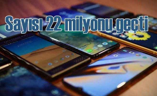 İstanbul'da cep telefonu sayısı 22 milyonu geçti