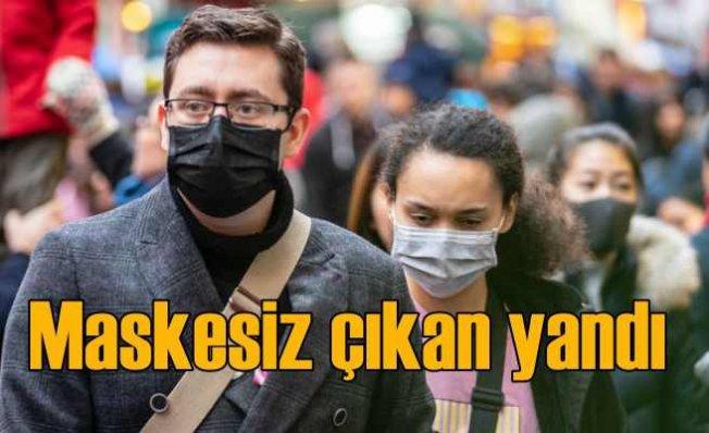 Maske takmayanlara 900 TL para cezası geliyor