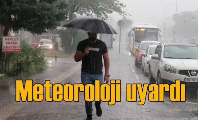 Meteoroloji Türkiye geneli için yağmur uyarısında bulundu