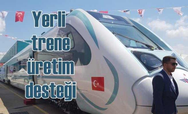Türkiye'nin ilk yerli ve milli elektrikli treninin üretimine ASAŞ destek verdi
