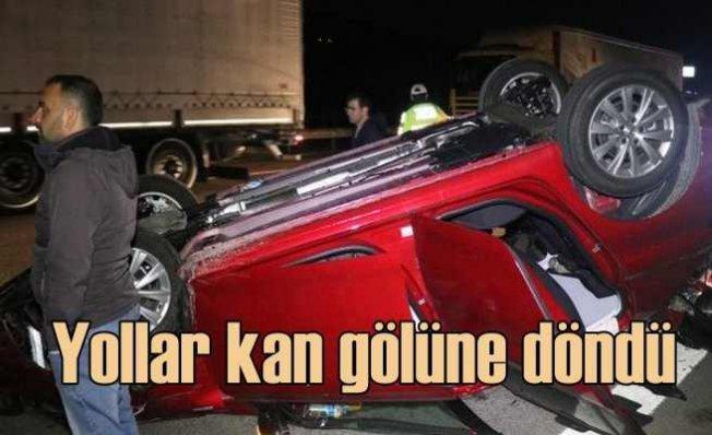 Yasaklar kalktı, yollarda kaza rekoru kırıldı