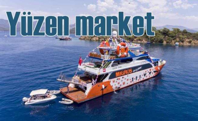 Yüzen Migros | Migros Deniz Market sefere çıktı
