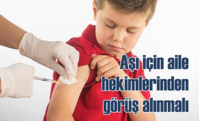 AHEF| Aşılar için aile hekimlerinin fikri alınmadı