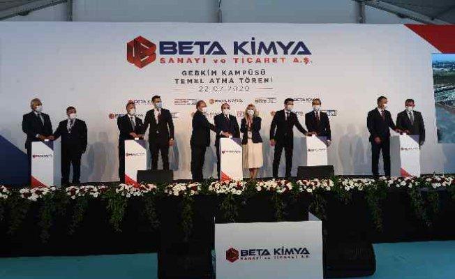 BETA Kimya'dan 315 milyon TL'lik yeni üretim tesisi yatırımı