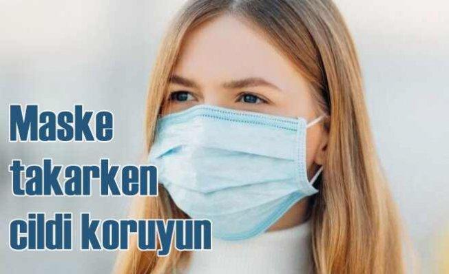 Maske takarken cildinizi koruyor