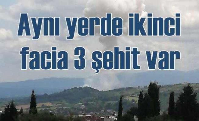 Sakarya'da ikinci patlama | 3 asker şehit