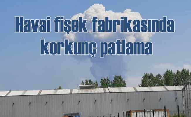 Sakarya Hendek'te patlama | Havai fişek fabrikası infilak etti 4 ölü var