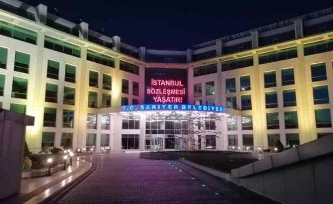 Sarıyer Belediyesi | İstanbul Sözleşmesi yaşatır