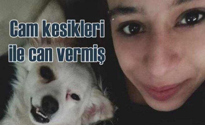 Ceyda Yüksel cinayeti   Genç kız camları yumruklamış