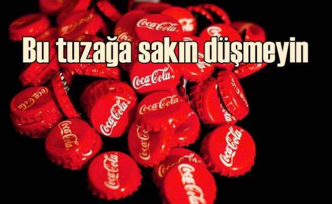 Coca Cola'dan ödül kazandınız diyerek dolandırıyorlar