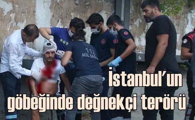 Değnekçi terörü geri döndü | İstanbul'un göbeğinde bıçaklı saldırı