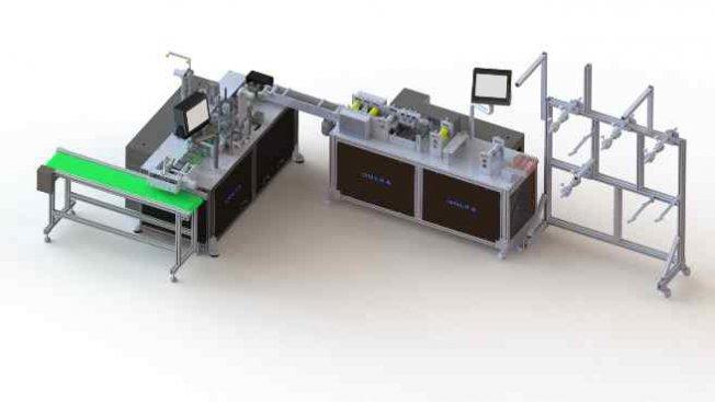 Dolka, maske üretim makinelerini Almanya'ya ihraç ediyor