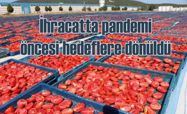 EİB   Yaş meyve ve sebze ihracatında 1 milyar dolar hedefine kilitlendi