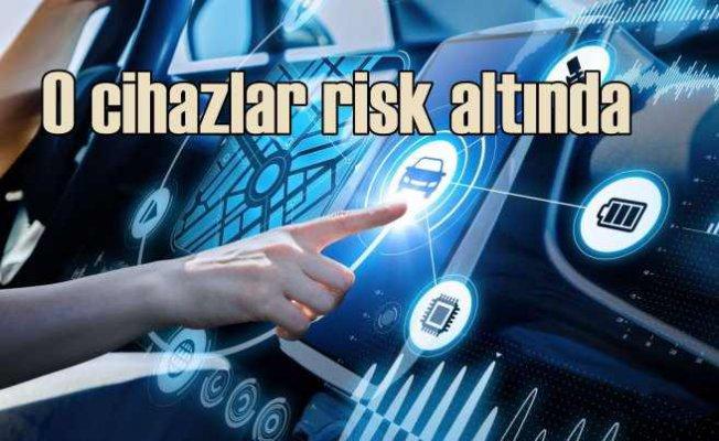 Evde, arabada ya da ofislerde kullandığımız cihazlarla gelen riskler