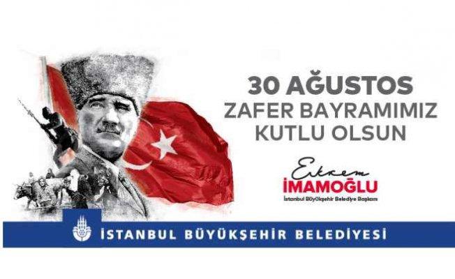 İBB 30 Ağustos'u sosyal mesafeli etkinliklerle kutlayacak