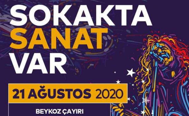 """İstanbullular """"Sokak'ta Sanat Var"""" ile Eğlenecek"""