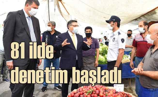 Kadıköy'de koronavirüs denetimi